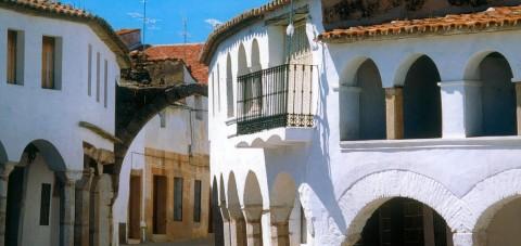 Cáceres. Calle típica