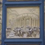 Detalle de la puerta del Paraíso