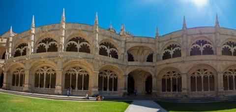 Lisboa. Interior del Palacio de los Jerónimos