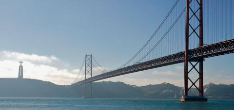 Lisboa. Puente sobre el Tajo