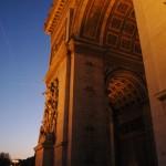 París. Arco del triunfo