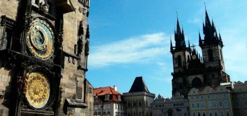 Praga. Plaza Principal