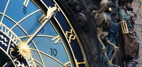 Praga. Detalle del reloj astronómico