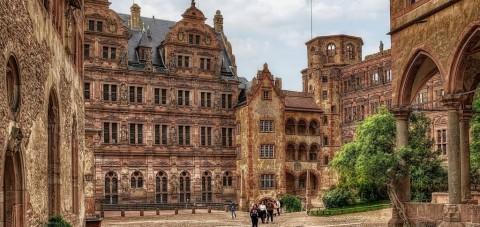 Heidelberg. Interior del Castillo