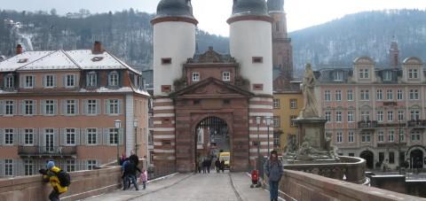 Heidelberg. Puente de Carl Theodor