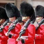 Londres. Cambio de guardia