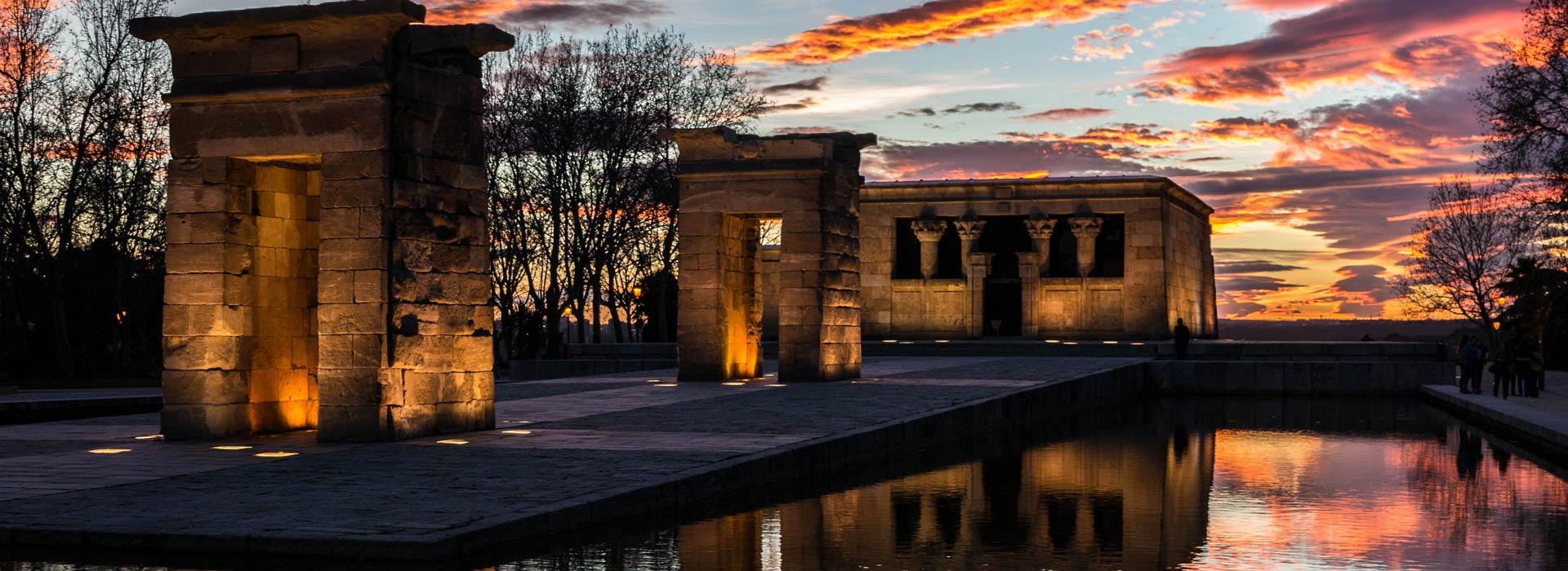 Madrid.Templo de Debod