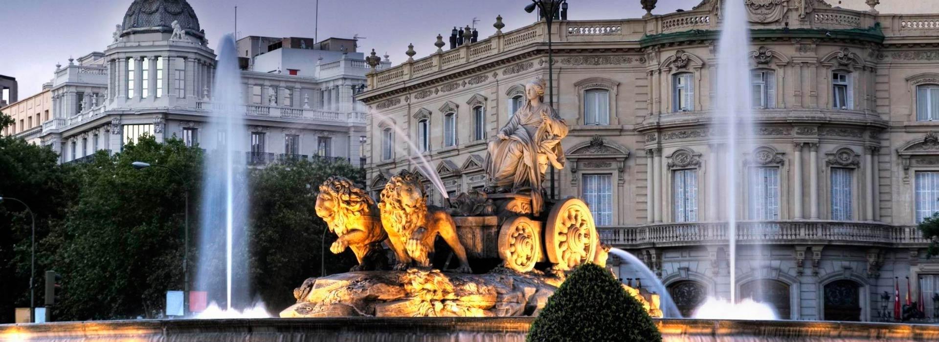 Madrid.Fuente de Cibeles