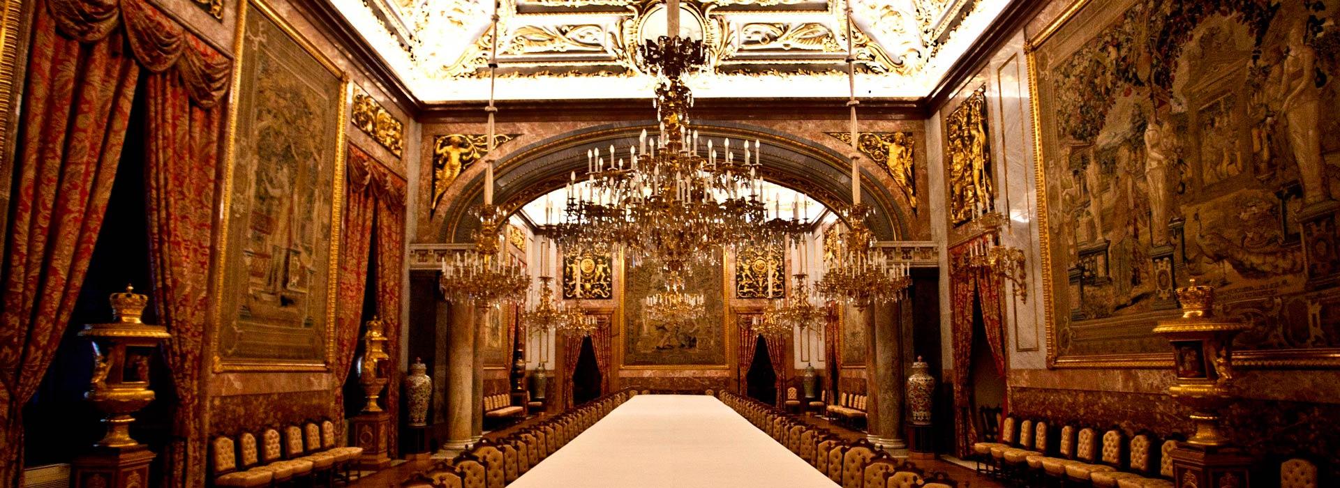 Madrid.Interior de Palacio Real