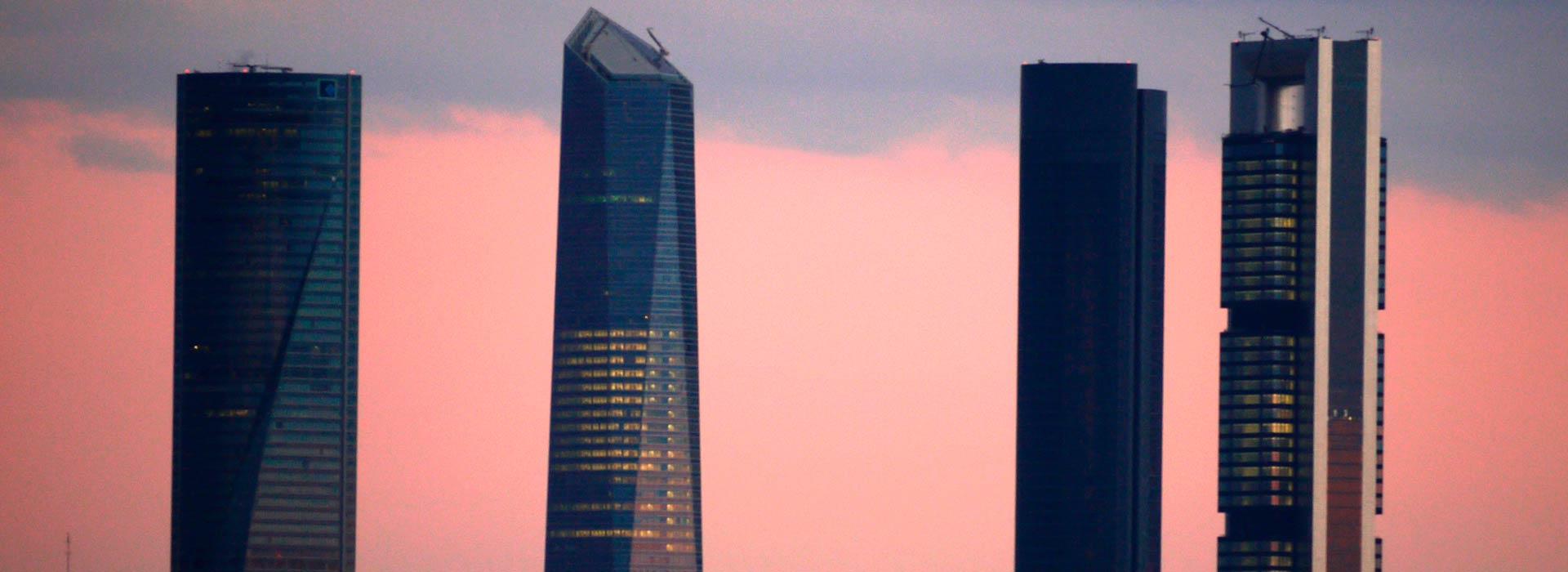Madrid. Las cuatro torres