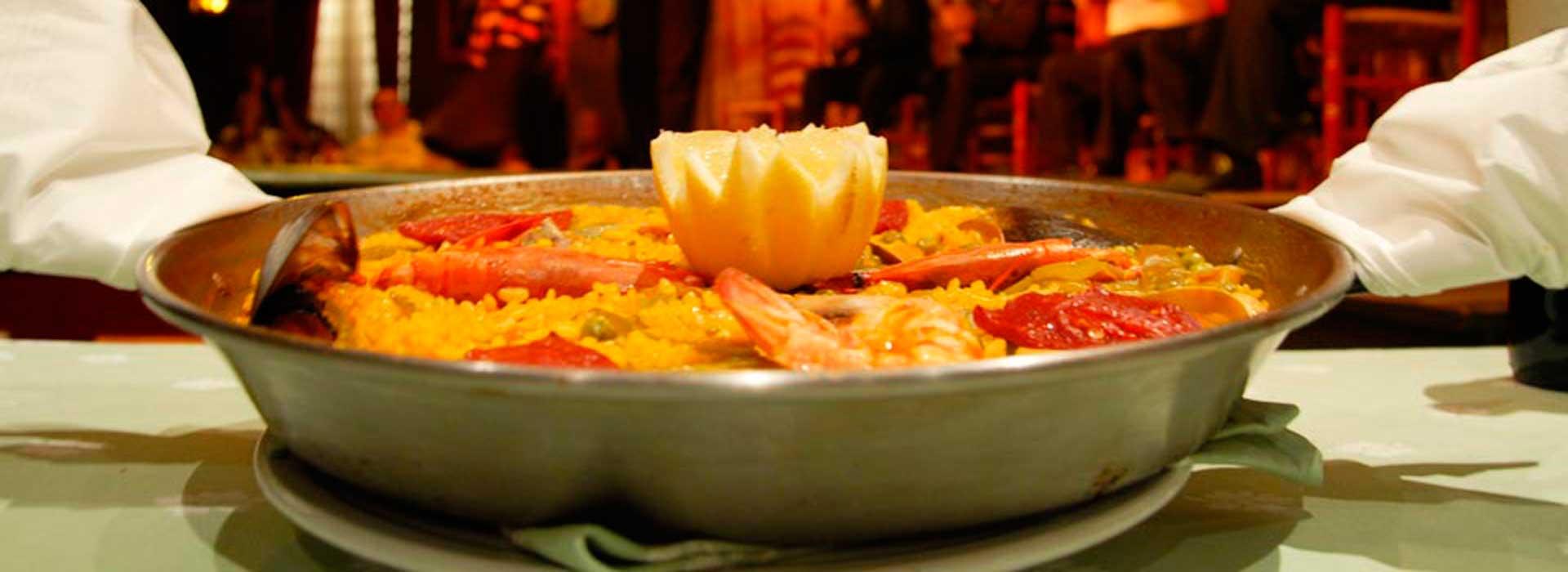 Paella en Café de Chinitas