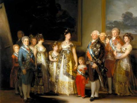 La-familia-de-Carlos-IV