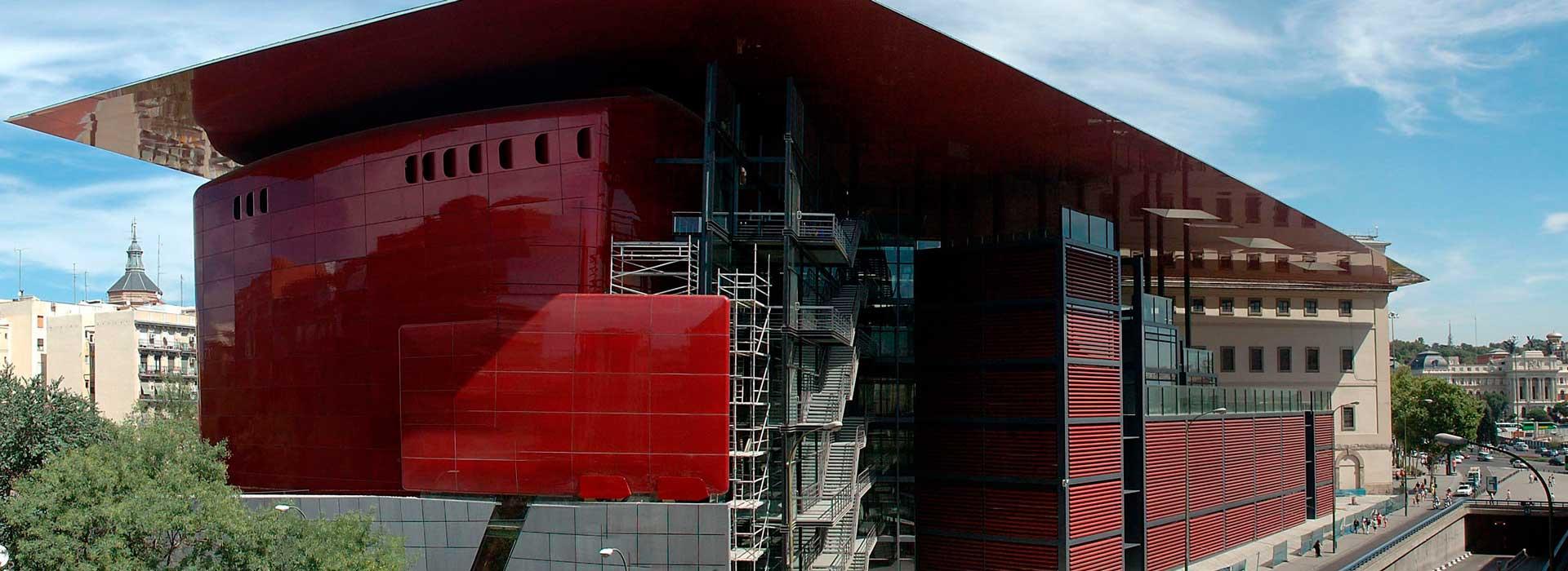 Museo Reina Sofía. Edificio Nouvel