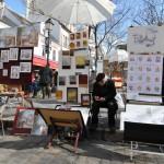Pintores en MontMatre