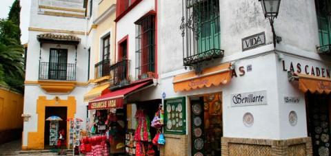 Sevilla.Barrio de Santa Cruz
