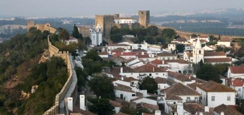 Óbidos. Vista general