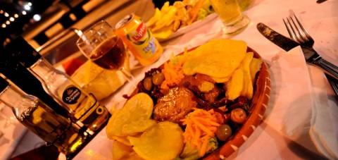 Oporto. Cena típica