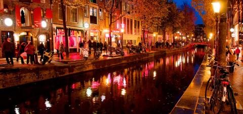 Amsterdam. Barrio rojo