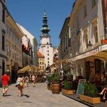 Bratislava. Torre de San Michael
