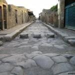 Calle actual de Pompeya