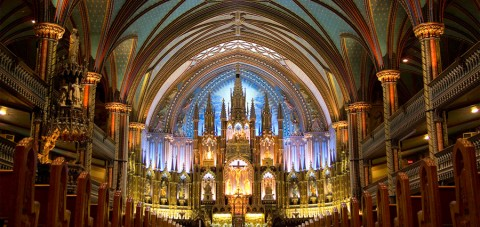 Notre Dame. Interior