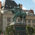 Orleans. Estatua de Juana de Arco