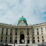 Viena. Entrada de Hofburg