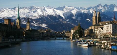 Zurich. Vista panorámica