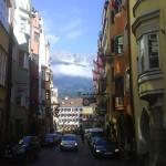 Innsbruck. Calle peatonal
