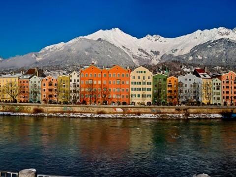 Innsbruck con el Norkette de fondo