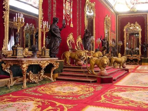 Palacio Real. Salón del Trono