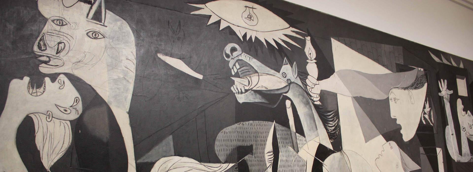 El Guernica. Detalle