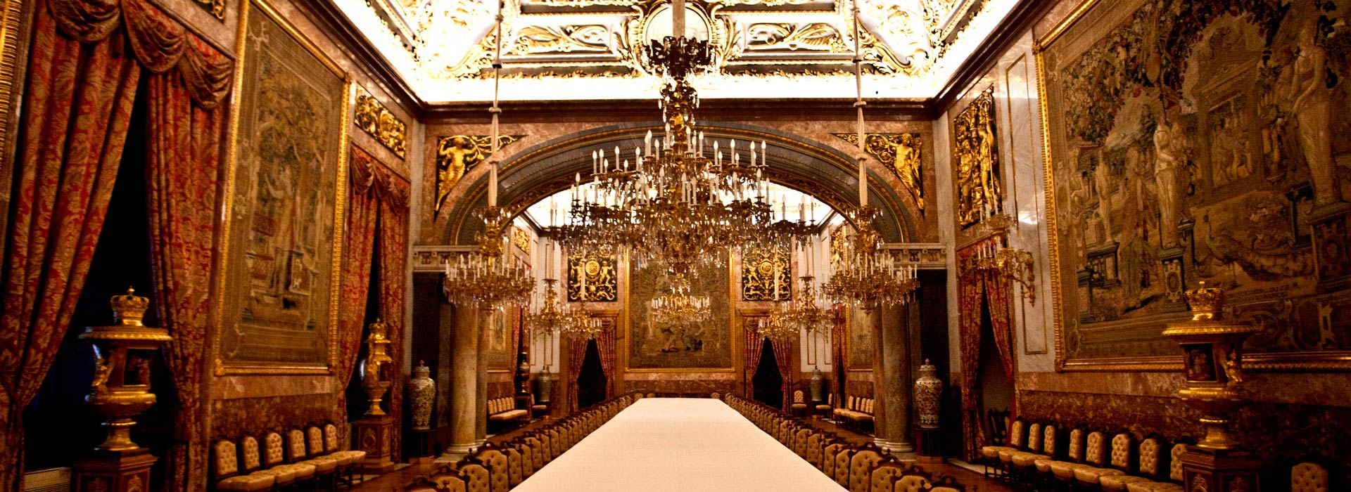 Madrid.Interior de Palacio Real