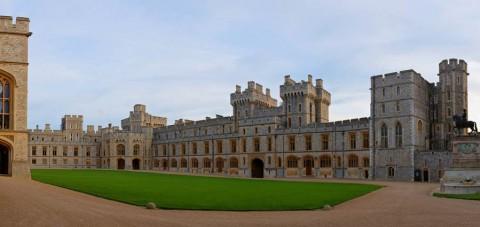 Patio del Castillo de Windsor