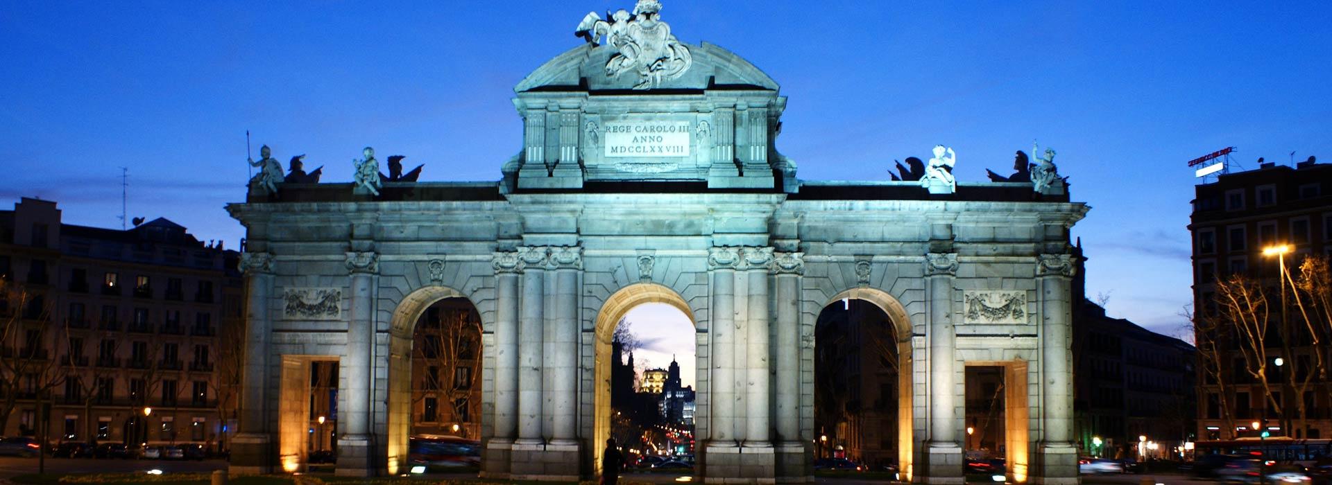 Madrid.Puerta de Alcalá