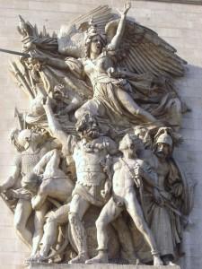 La Marsellesa en el Arco del Triunfo