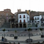 Cáceres.Plaza Mayor