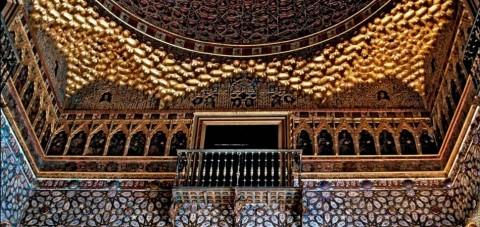 Sevilla. Interior de los Alcázares