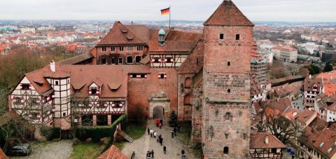 Nuremberg.Muralla