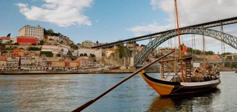 Oporto. Vista general