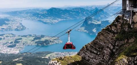 Lucerna- Monte Pilatus