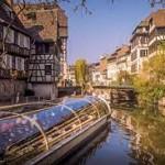 Strasburg.Paseo por el río